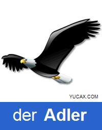 águila en alemán